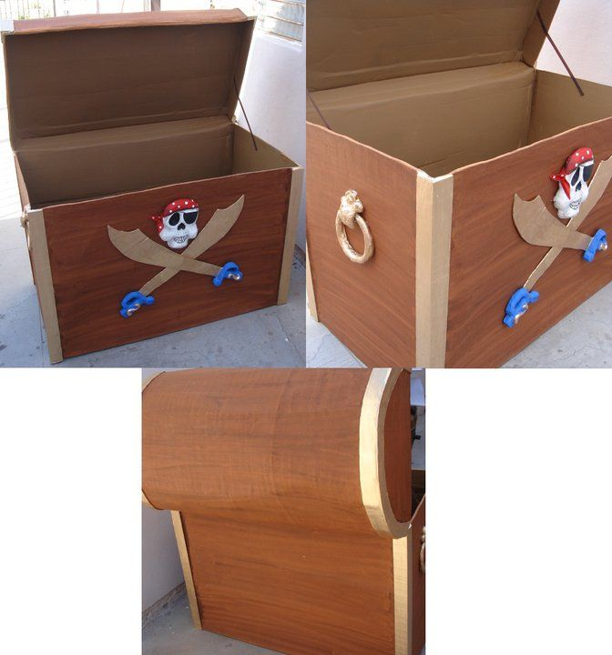 caribbean pirates chest