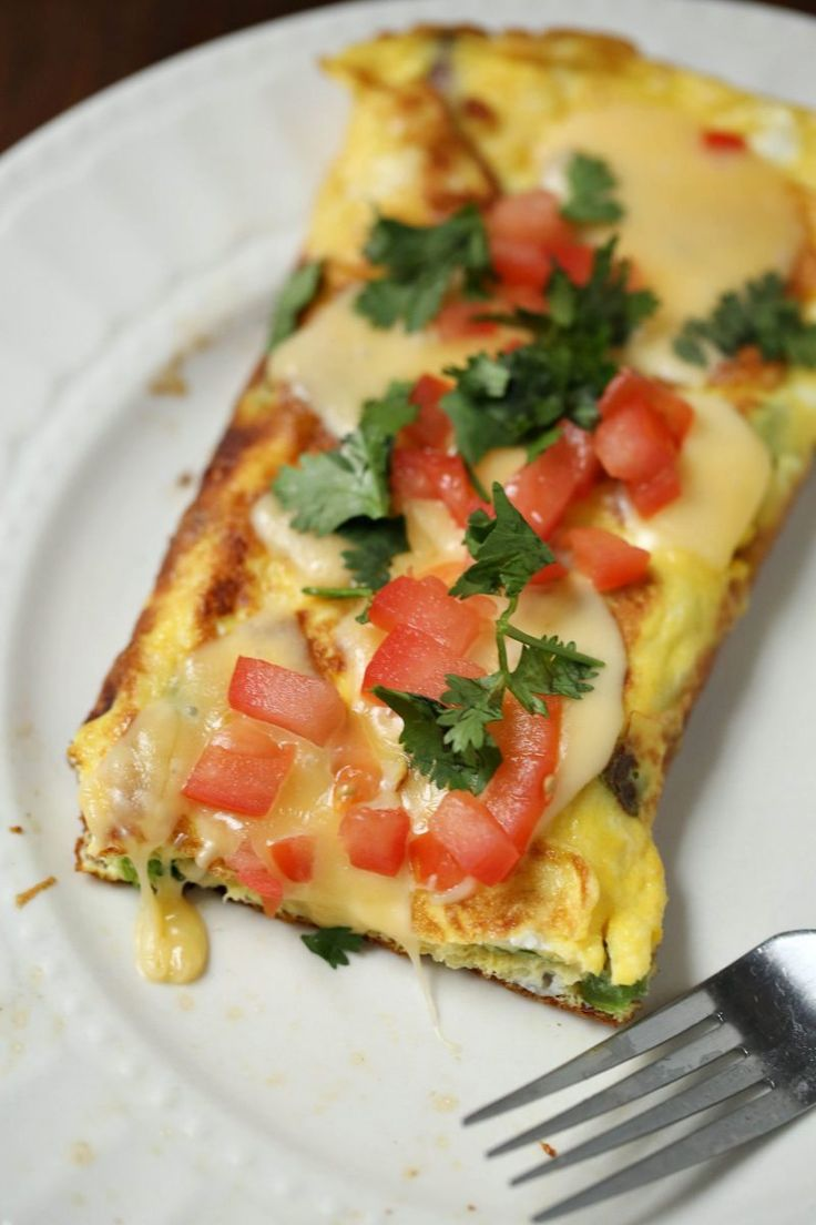 Need an egg dish for breakfast? Make this veggie stuffed omelet that's ready in just 15 minutes or less, and deliciously filling to fuel up!