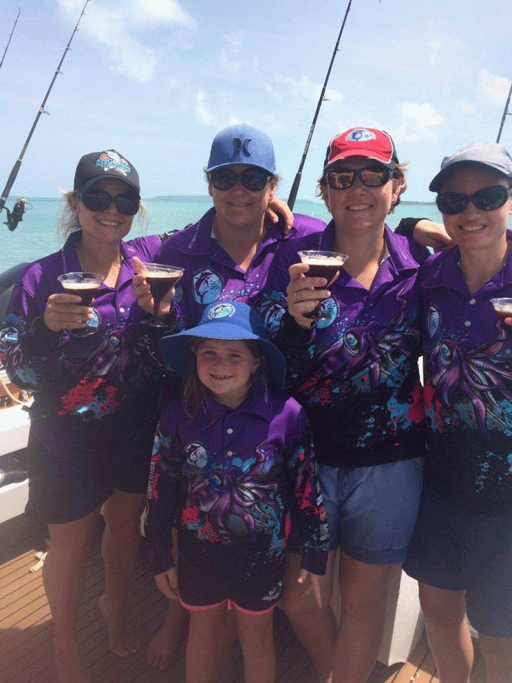 Groote Eylandt Ladies Fishing - Bigfish is the new Black