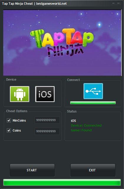 Tap Tap Ninja Hack Cheat Tool