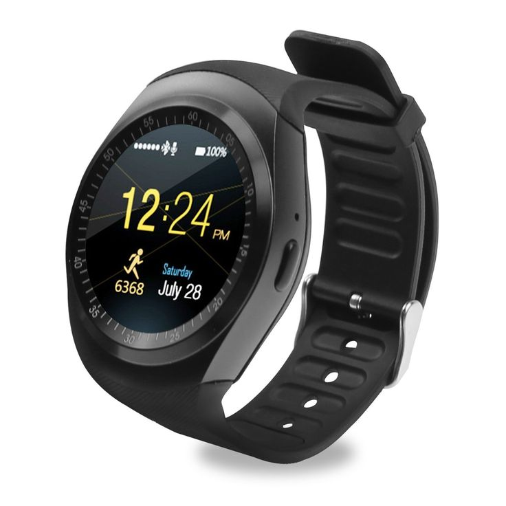 TKSTAR GPS Tracker Watch for Men Women with Pedometer Heart Rate Monitor Watches 2G GSM SIM App Sync Mp3 for Apple iPhone Apple Android Phones Y1 (Black). ✔Compatibility SmartWatch:Support for Samsung Galaxy Note 3; Samsung Galaxy Note 5; Samsung Galaxy S7; Samsung Galaxy S6; Samsung Galaxy S5, Google Pixel /Pixel XL; Apple iPhone 7; Apple iPhone 7 Plus; Apple iPhone 6/6s; Apple iPhone 6/6s Plus; Apple iPhone 5S; Apple iPhone 5C; Apple iPhone 4/4s; Huawei; LG; Sony etc.(Note: iphone dont...