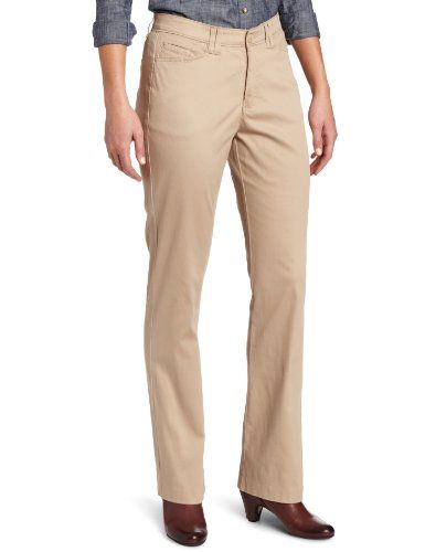 Lee Women`s Misses Comfort Fit Lauren Barely Bootcut Pant $19.49