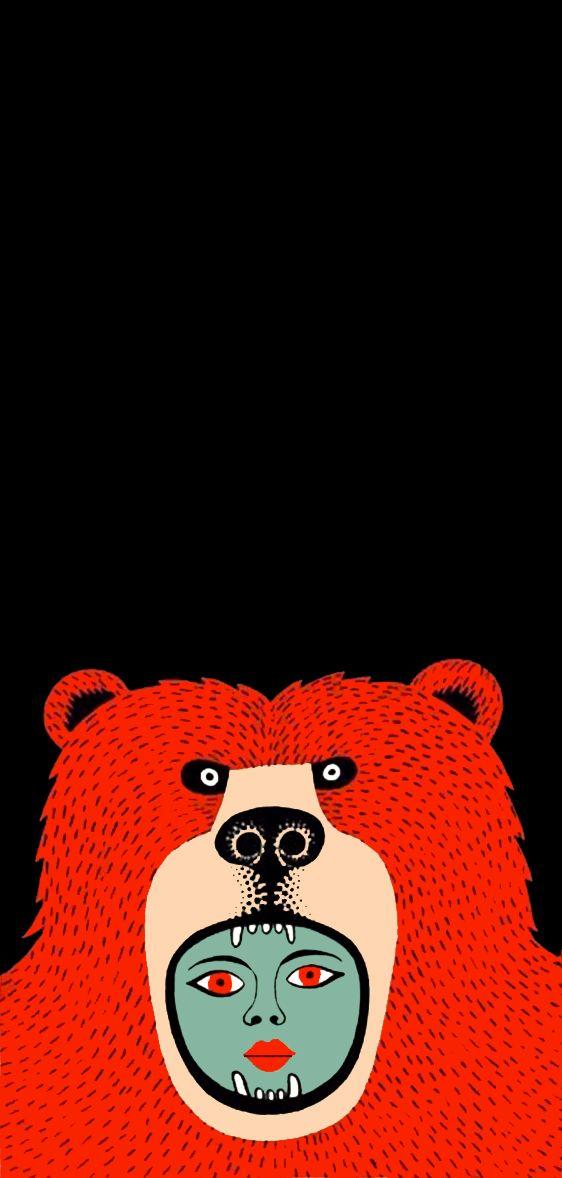 Oso Rojo by Joel Moore aka Mulga