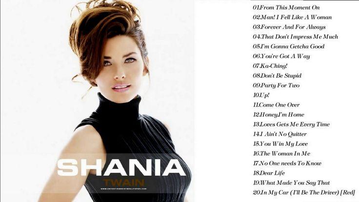 Shania Twain - Shania Twain Greatest Hits 2017