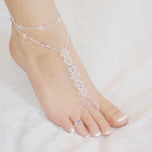 Jeweled & adorned feet~