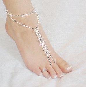 Jeweled & adorned feet~
