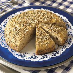 Solrostårta med bakpulver är ett superenkelt och gott bröd som inte behöver jäsa.