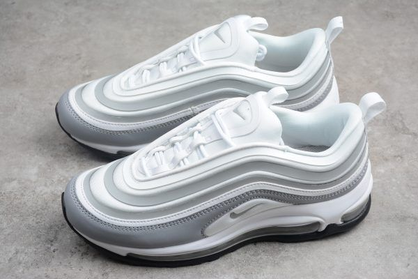 save off 31db0 80def Nike Air Max 97 Ultra White Pure Platinum Wolf Grey 917704-102 Womens-5