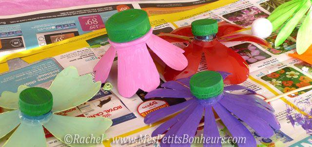 Recyclage bouteilles platique