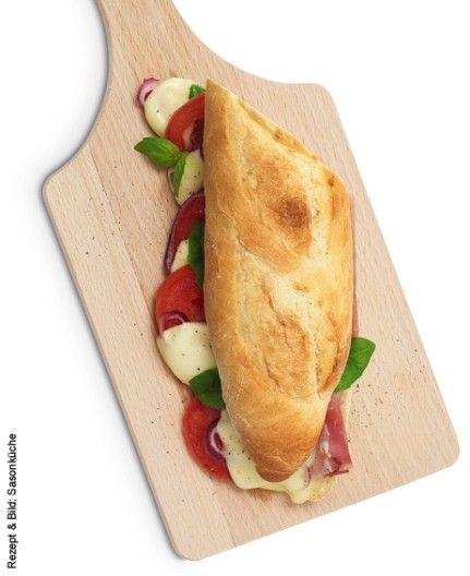 Sandwich chaud au jambon