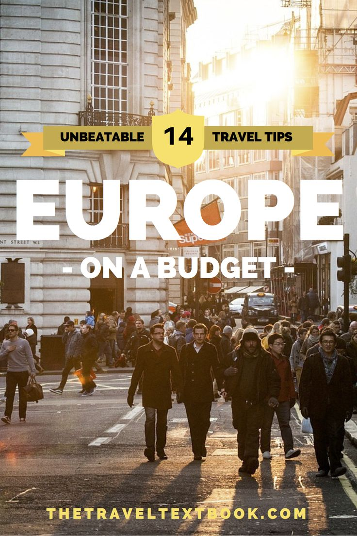Europe travel can be expensive;  so what are some effective techniques for exploring Europe on a budget? Come and find out with this article from Travel Textbook.