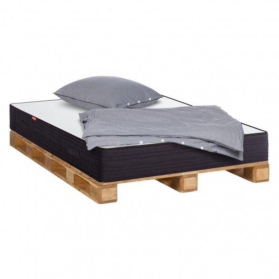 die besten 20 palettenbett 140x200 ideen auf pinterest betten 140x200 bett 140x200 und bett 140. Black Bedroom Furniture Sets. Home Design Ideas
