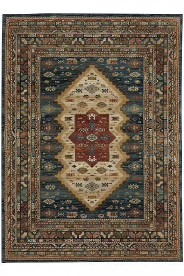 Rutter Area Rug - Traditional Rugs - Southwestern Rugs - Machine-woven Rugs - Synthetic Rugs | HomeDecorators.com