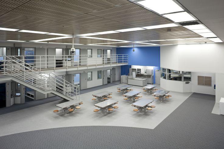 Mt Eden Prison, Auckland, accommodation unit lounge