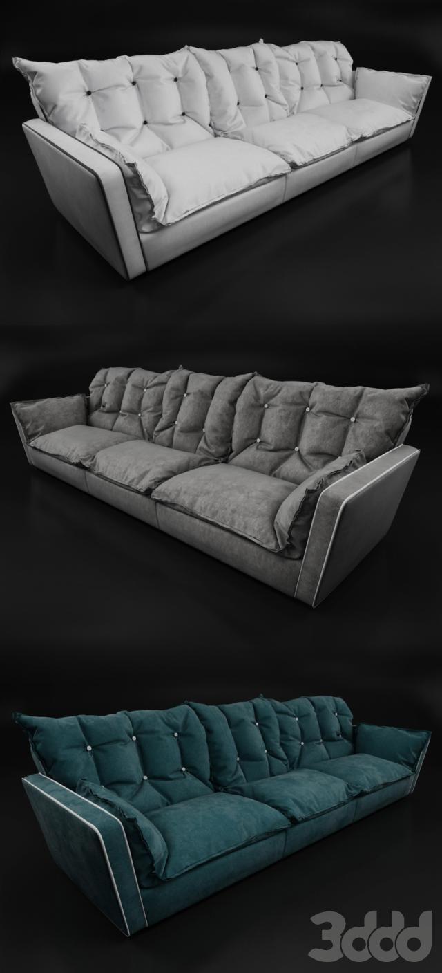 Baxter Σορέντο καναπέ (τριθέσιο)