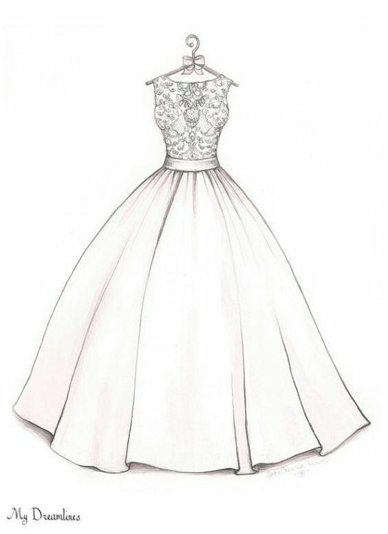 Návr svatebních šatů (lucka&boutique)