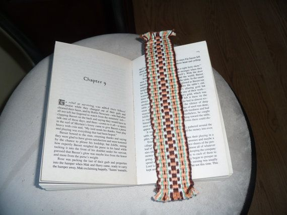 Hand Woven Bookmark
