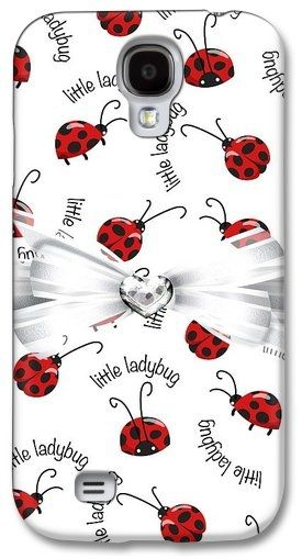 Galaxy S4 Case of Little Ladybug Treats