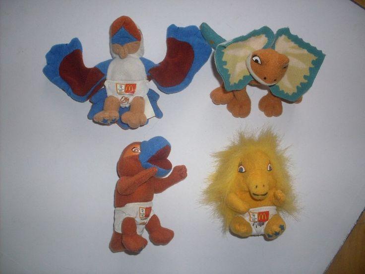 McDonalds Sydney 2000 Olympic Games Mascot Plush Babies Olly Lizzy Millie Syd | eBay
