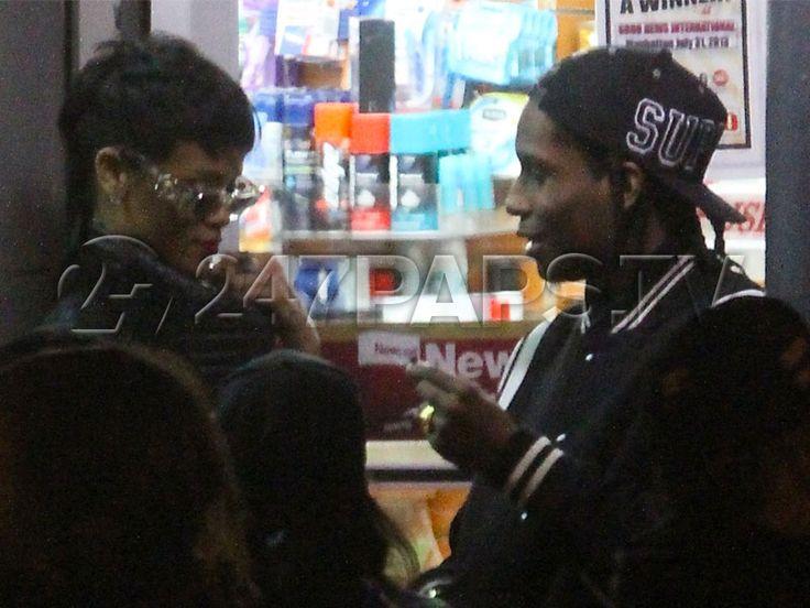 A$AP Rocky & Rihanna on set of Fashion Killa Video [Photos] - http://247paps.tv/aap-rocky-rihanna-on-set-of-fashion-killa-video-photos/