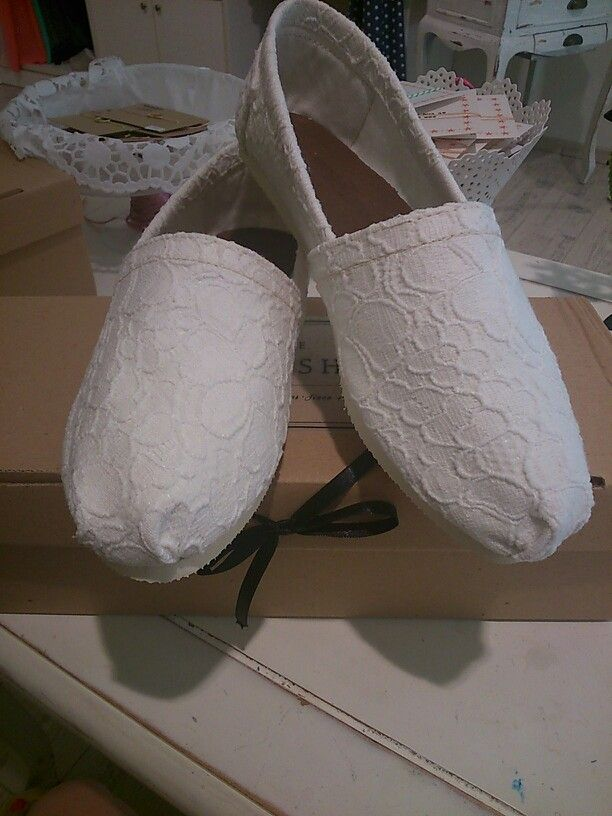 Handmade party shoes by the workshop