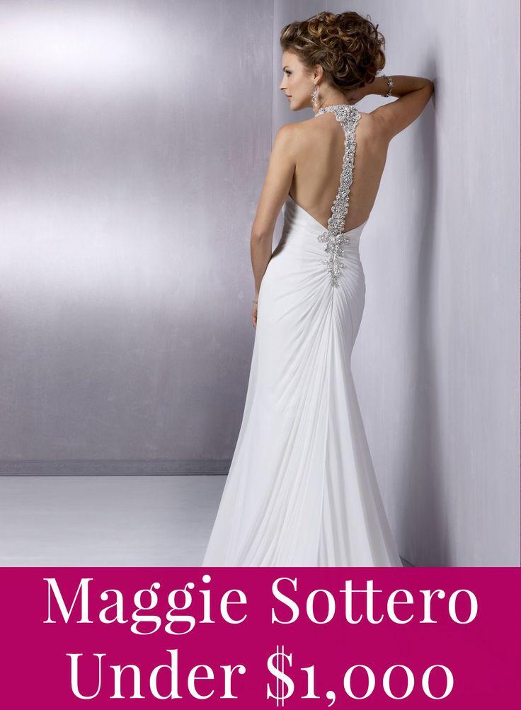 Maggie Sottero prices under $1,000!