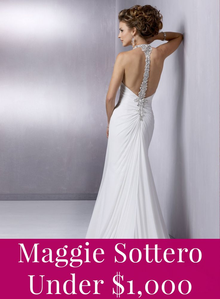 Maggie Sottero prices under $1,000!