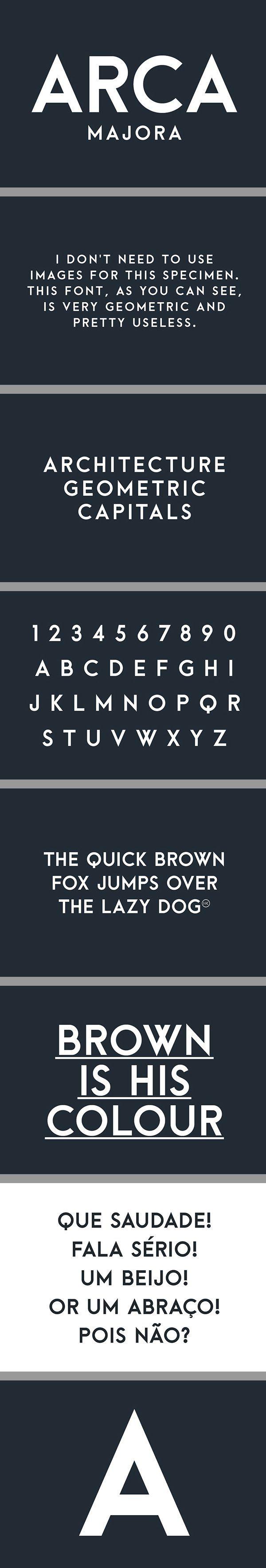 Arca Majora Free Font