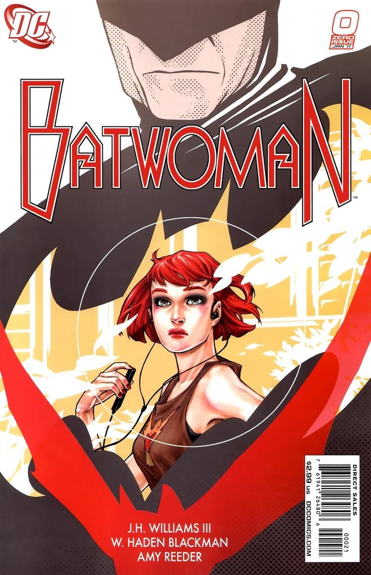 Kate Kane, Batwoman #0 - Amy Reeder Cover