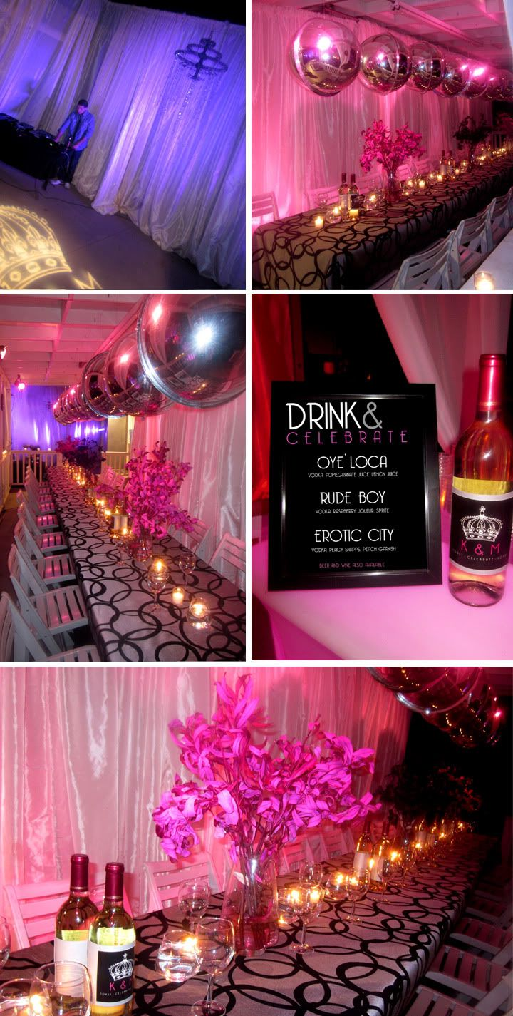 Cammi Lee Events: Stunning Surprise Double Birthday Party