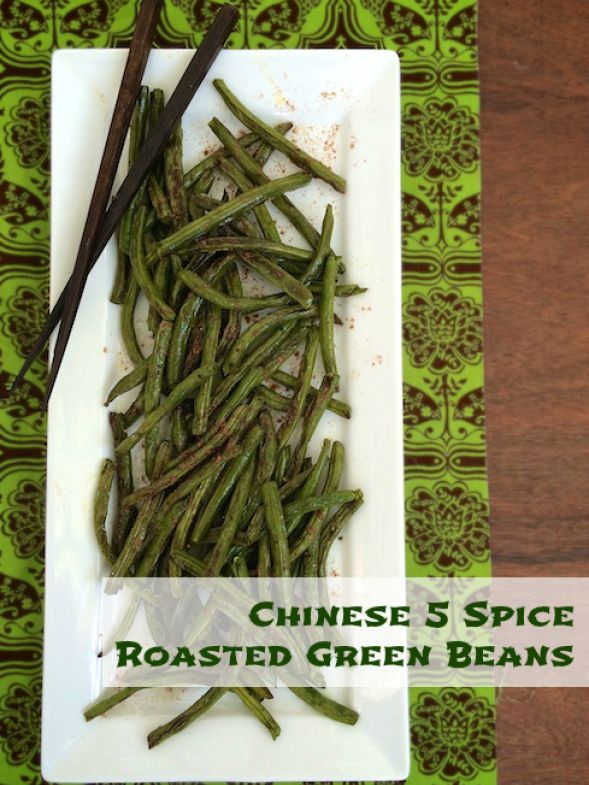 A twist on your Thanksgiving green beans - flavor with Chinese 5 Spice powder! @tspbasil