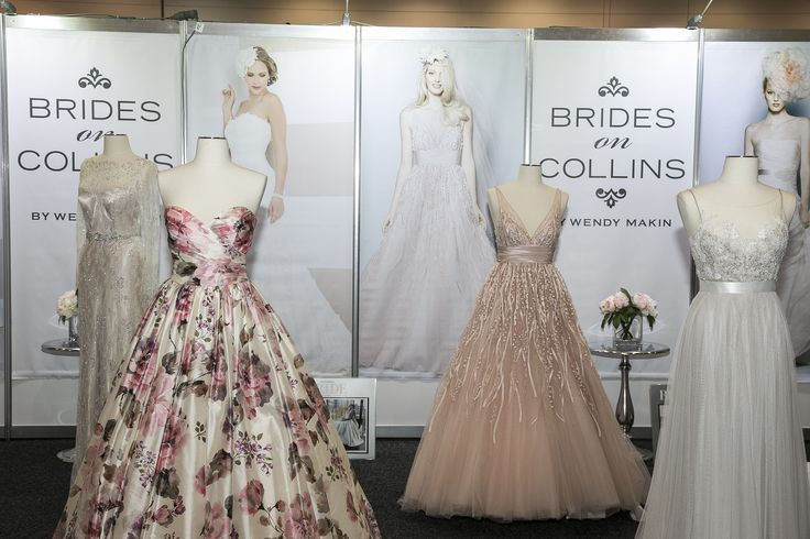 Wendy Makin is giving away a beautiful $5000 wedding gown and all visitors go into the running to win. Brides On Collins is on stand 63.