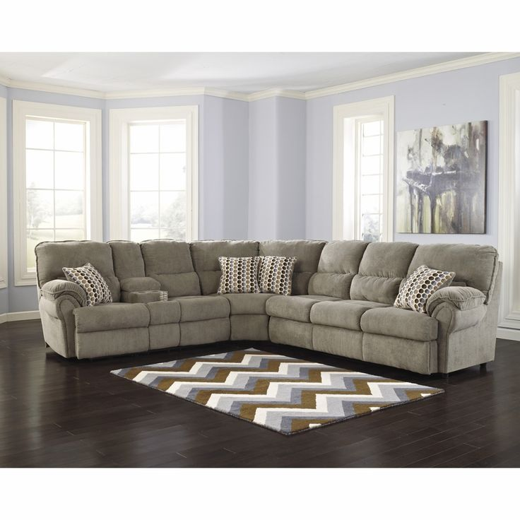 Best 25 reclining sectional ideas on pinterest for Ashley beige sofa chaise