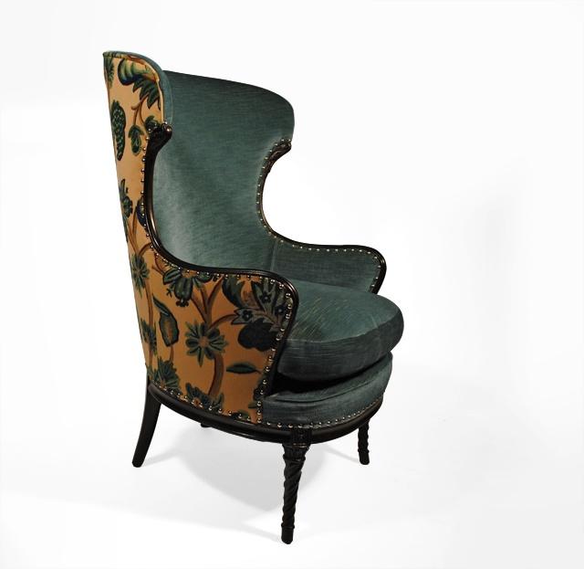 aqua wing chair