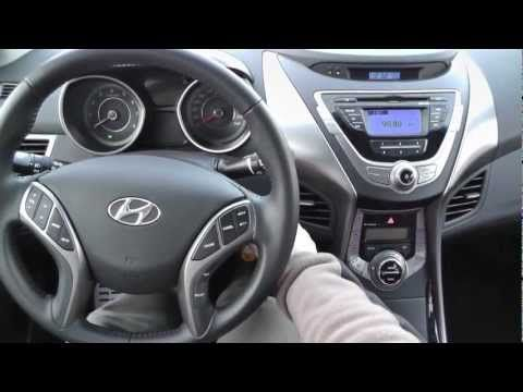 Hyundai Elantra 2012 1.6 132KM MPI Style - YouTube