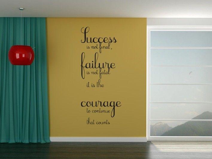 Success Failure Courage | stuckon.com.au