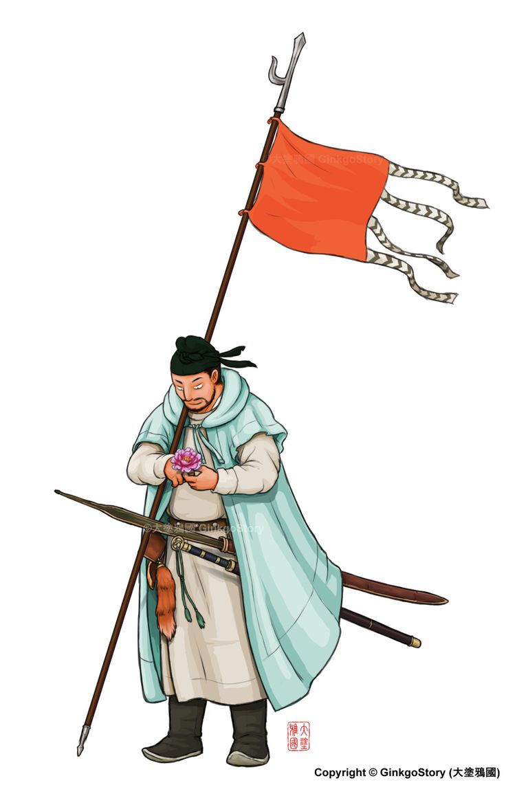 Imperial Guard of the Tang Dynasty, Ginkgo Story on ArtStation at https://www.artstation.com/artwork/wGbY6