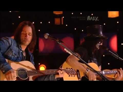 Back From Cali  Slash & Myles Kennedy  Rare Acoustic  MAX Sessions 2010  Best Quality 480p