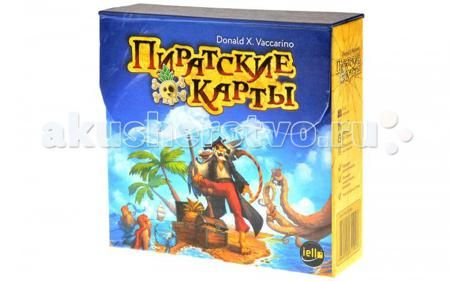 Magellan Настольная игра Пиратские карты  — 780 руб.  —   Magellan Настольная игра Пиратские карты MAG05264  Пиррратские карррты — это пррростая игра, в которррой вам нужно как можно быстрее выкладывать своих пиррратов на стол. Поначалу просто — какой пират уже есть на столе, такого и можно выложить. А потом сложнее — ведь у каждой карты есть свои особенные свойства