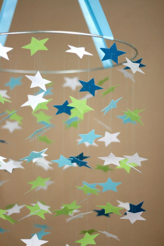 Best 25 night stars ideas on pinterest for Baby shapes mobile