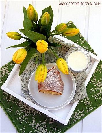 Dzisiejsza babkabędzie ostatniąbabką jaką zaproponuję Wam na tegoroczną Wielkanoc. Chyba ostatnią... A może nie powinnam się aż tak zarzekac? Bo co poradzę, że