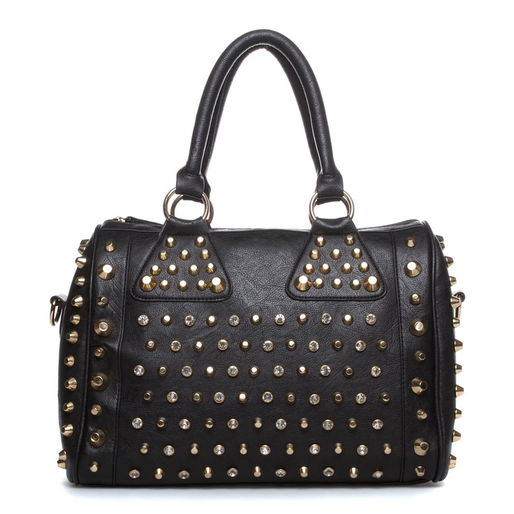 17 Best ideas about Studded Bag on Pinterest | Studded leather, Silver bags  and High end handbags