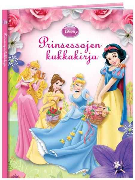 Prinsessojen kukkakirjan sivuilla Lumikki vastaa kysymyksiin kukkasista ja prinsessat esittelevät omia lempikukkiaan ja seikkailevat lorumuotoisissa kesätarinoissa. Hauskassa testissä selviää, mikä on Sinun lempikukkasesi!
