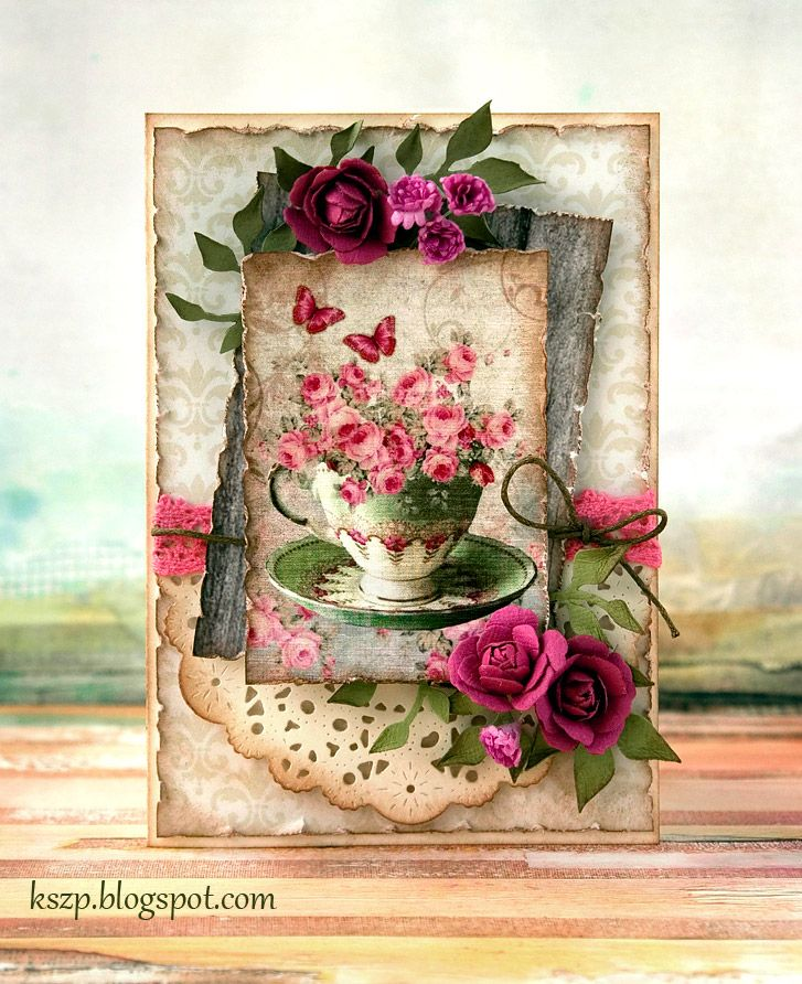 Klaudia / Kszp: With a cup full of flowers