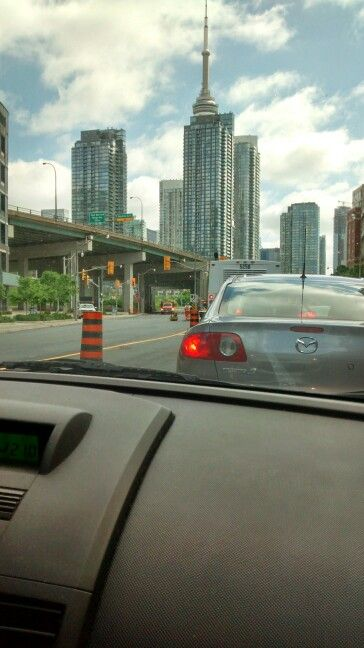 From Lakeshore Blvd.