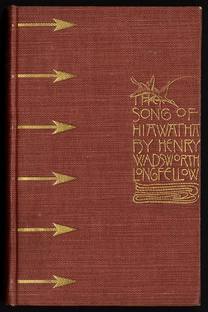 best people longfellow s hiawatha images henry  the song of hiawatha cover design by sarah wyman whitman