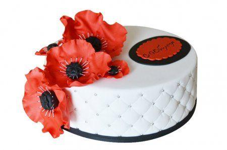 Дизайн свадебного торта от itortilla