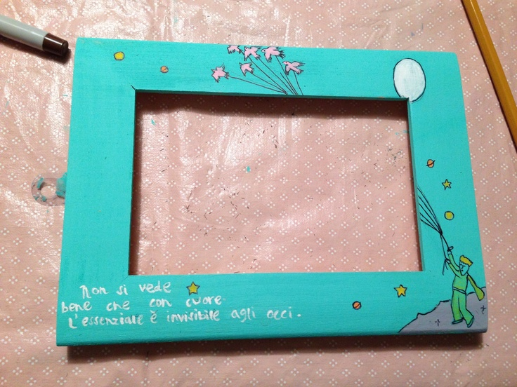 The little prince frame