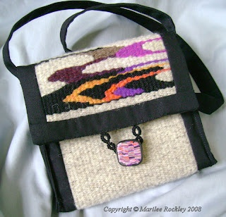 Handwoven tapestry bags