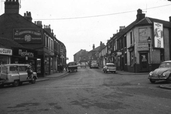 Unseen images of Tunstall: Bert Bentley Collection